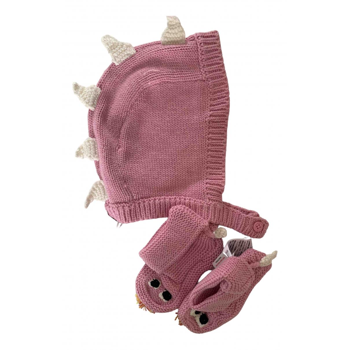 Stella Mccartney - Chapeaux.Bonnets.Gants   pour enfant en coton - rose