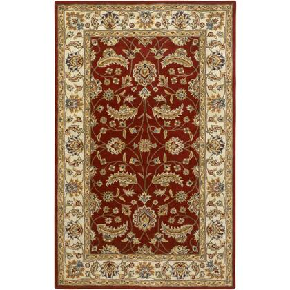 Caesar CAE-1022 4' x 6' Rectangle Traditional Rug in