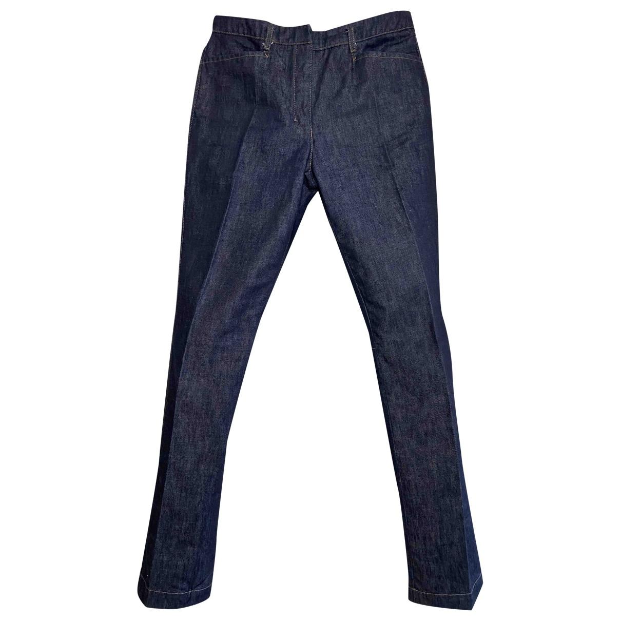Prada \N Blue Denim - Jeans Jeans for Women 39 FR