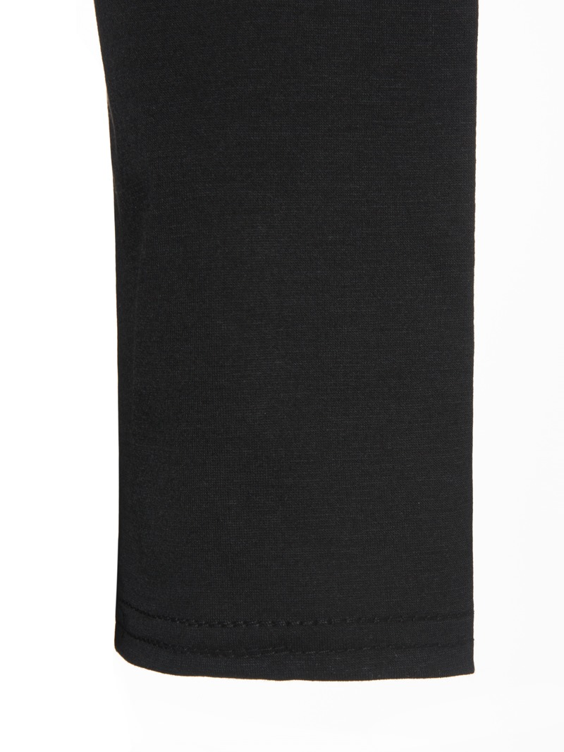 Ericdress Slim Plain Asymmetric Long T-shirt