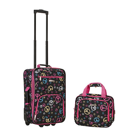 Rockland Rio 2-pc. Carry-On Luggage, One Size , Black