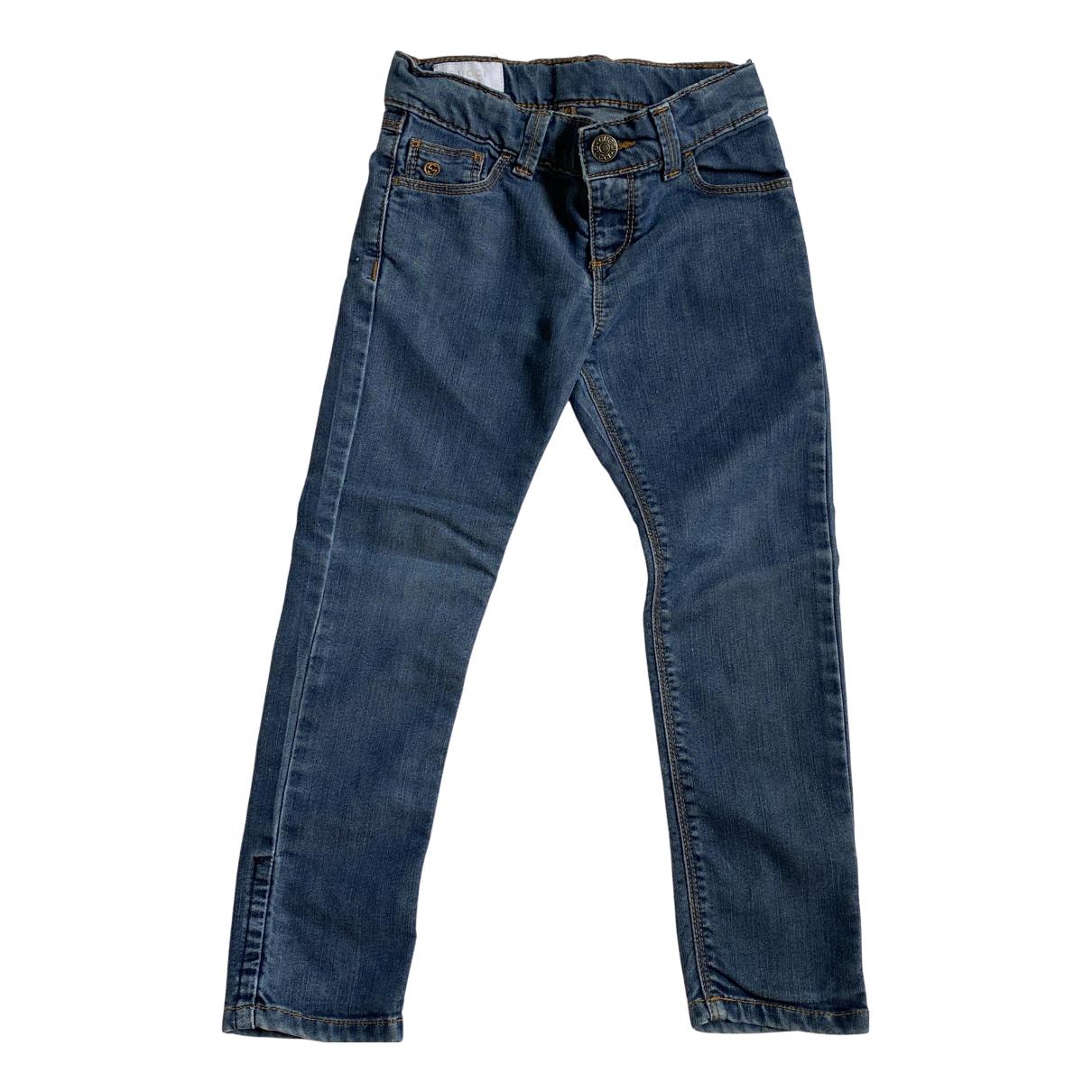 Gucci - Pantalon   pour enfant en denim - bleu