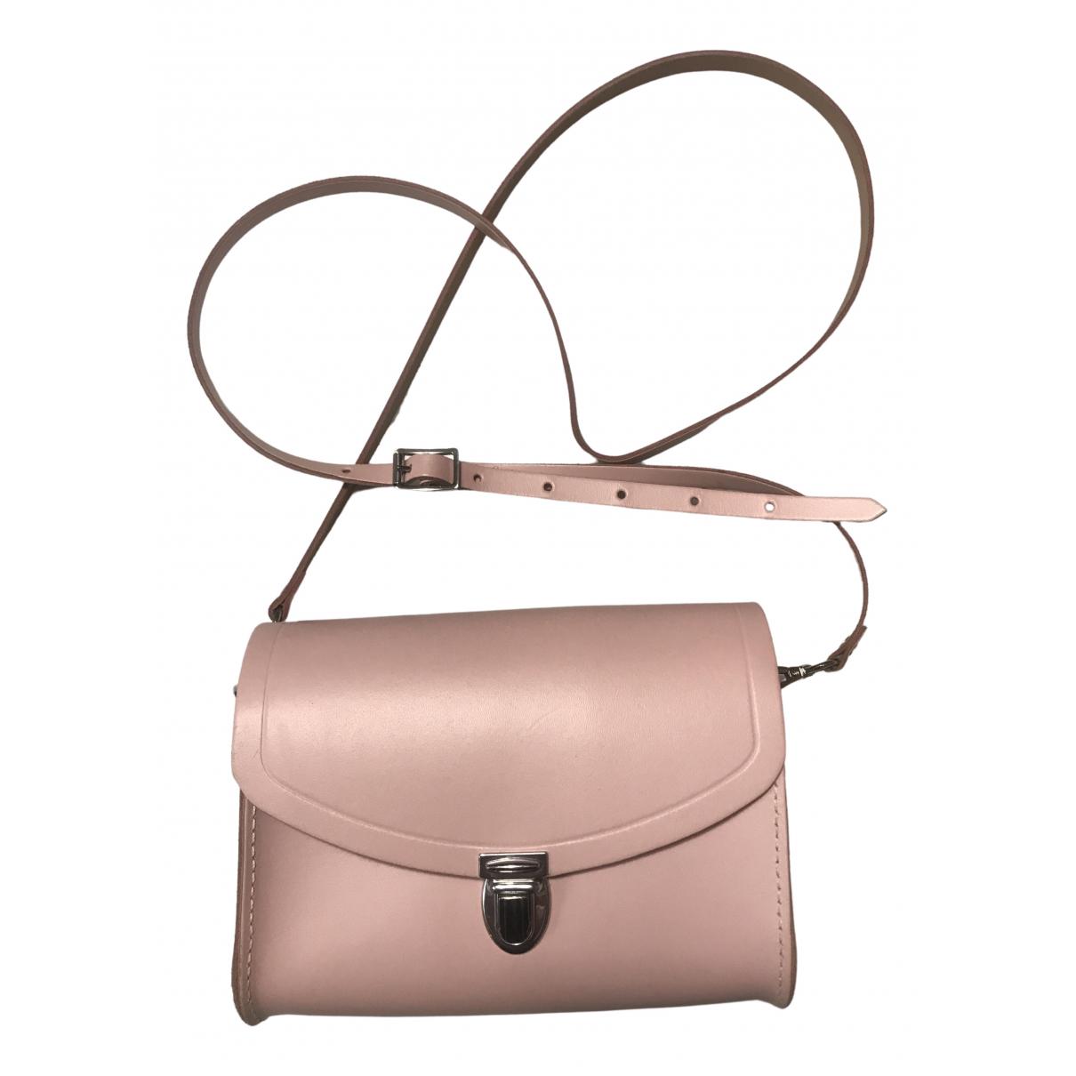 Cambridge Satchel Company \N Handtasche in  Rosa Leder
