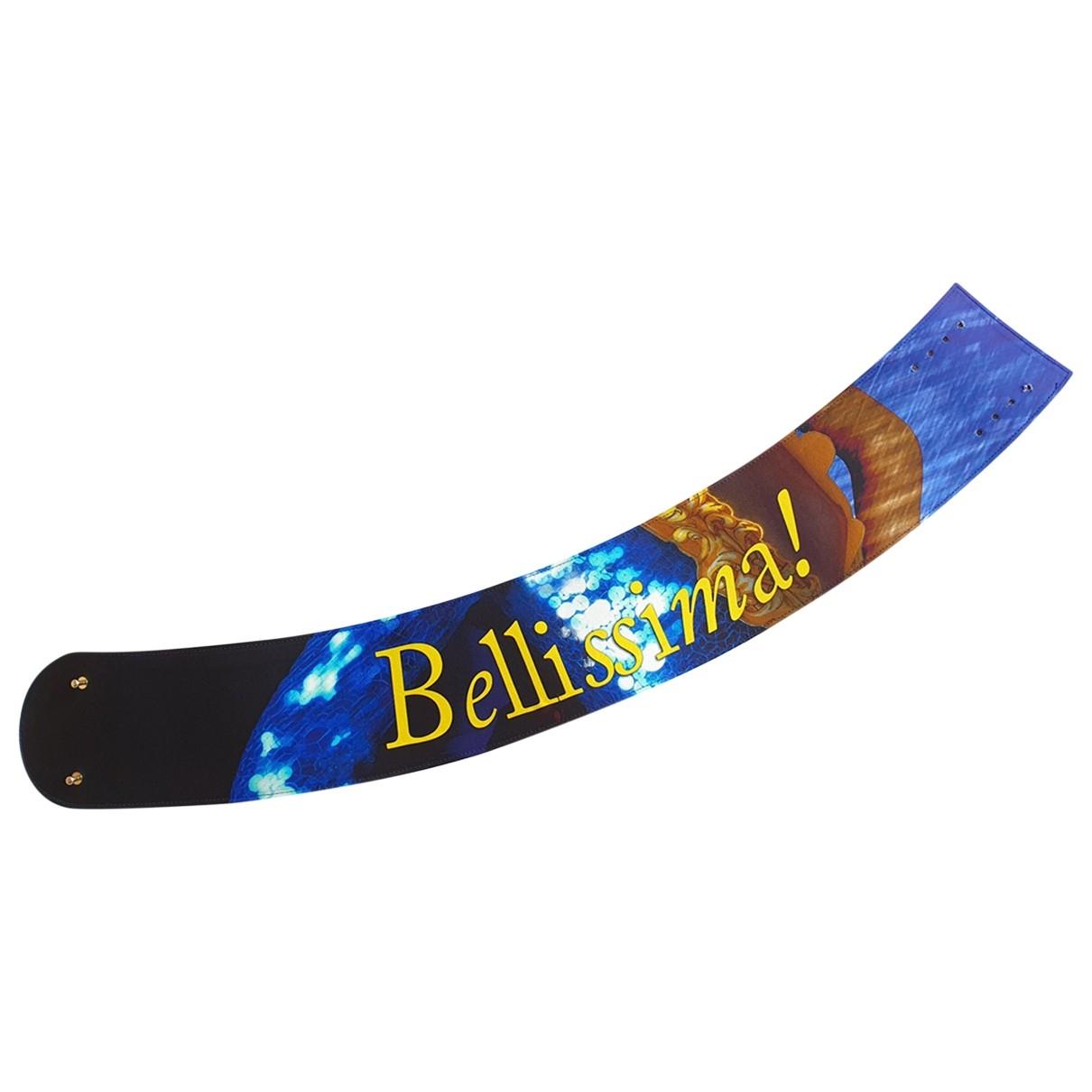 Moschino \N Blue Leather belt for Women L International
