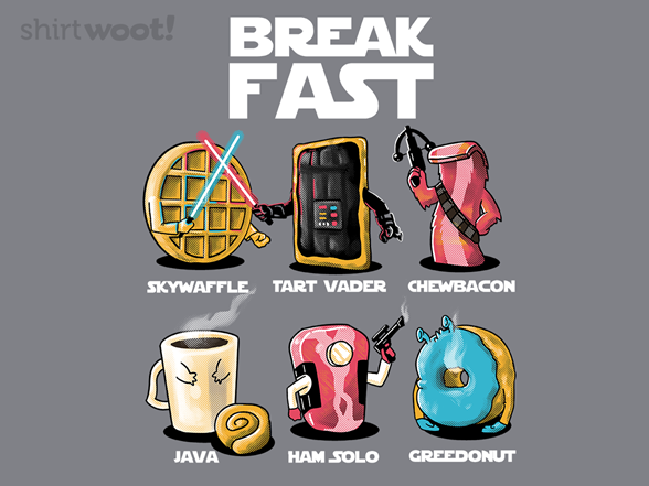 Bring Balance To The Breakfast T Shirt