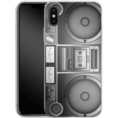 Apple iPhone X Silikon Handyhuelle - Beatbox von caseable Designs