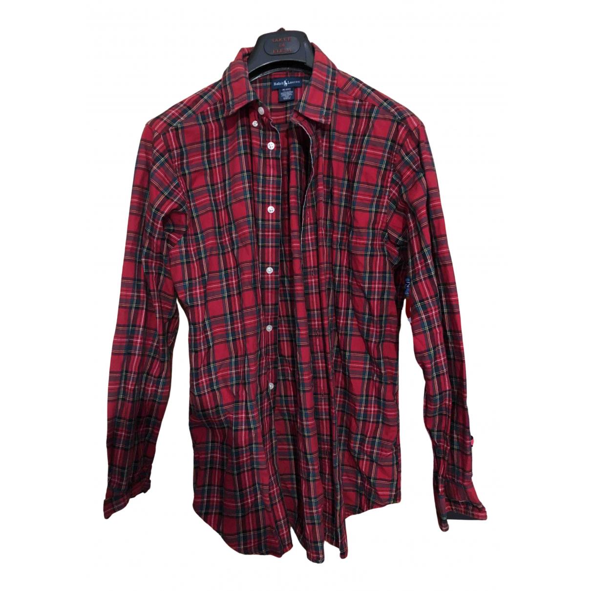Polo Ralph Lauren \N Red Cotton Shirts for Men XL International