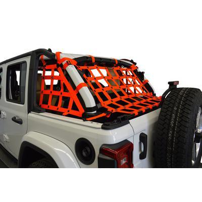 DirtyDog 4x4 3-Piece Netting Kit (Orange) - JL4N18RCOR
