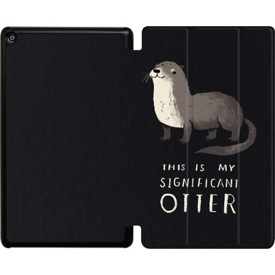 Amazon Fire HD 8 (2018) Tablet Smart Case - This Is My Significant Otter von Louis Ros