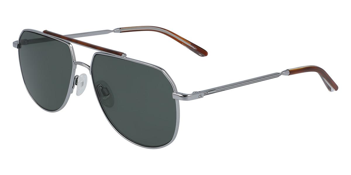 Calvin Klein CK20132S 008 Mens Sunglasses Grey Size 57
