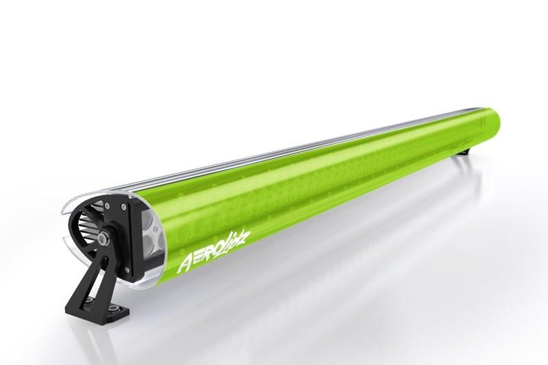 AeroLidz 088LMGRN52 LED Light Bar Cover Insert 52 Inch Lime Green