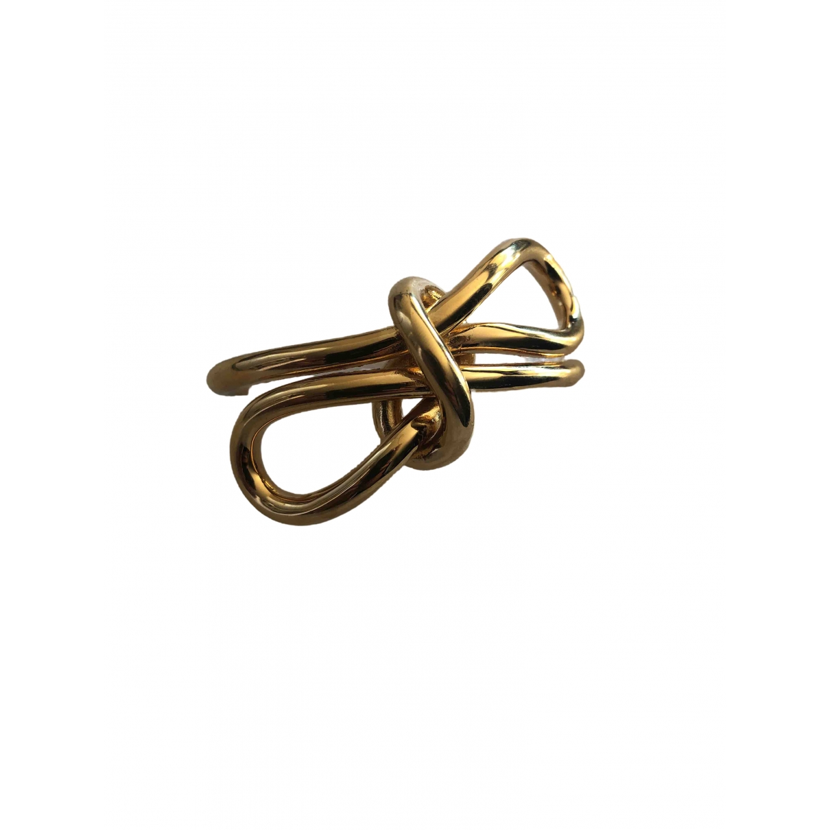 Balenciaga - Bracelet   pour femme en metal - dore