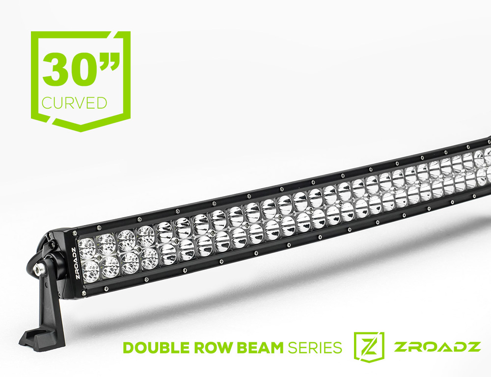 (1) 30 Inch LED Curved Double Row Light Bar PN Z30CBC14W180