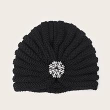 Turban Hut mit Strass Dekor