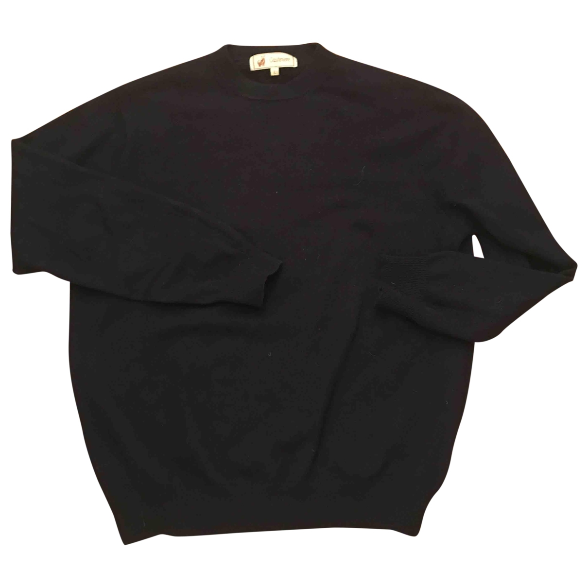 Non Signe / Unsigned \N Pullover in  Marine Kaschmir