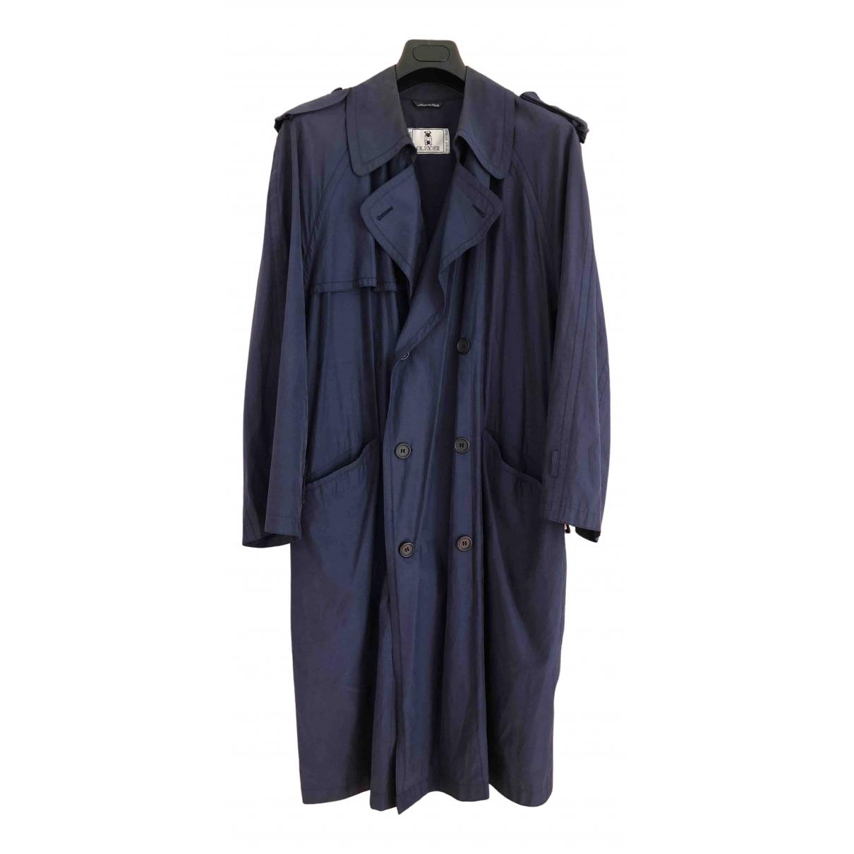 Valentino Garavani - Manteau   pour homme en coton - bleu