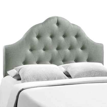 MOD-5164-GRY Sovereign Full Fabric Headboard in Gray
