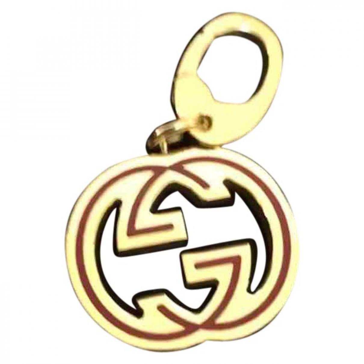 Gucci \N Anhaenger in Gelbgold