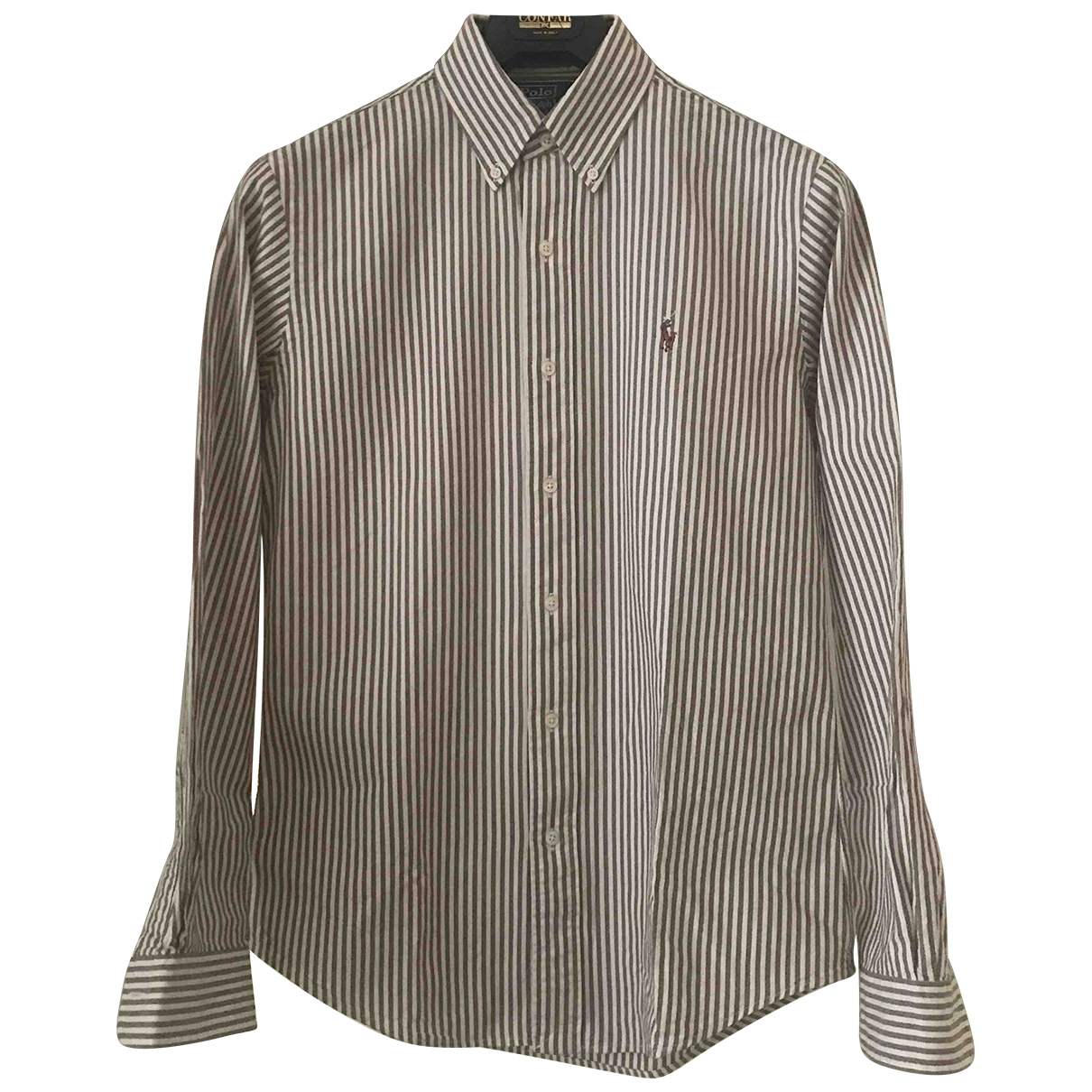 Polo Ralph Lauren - Chemises   pour homme en coton - kaki