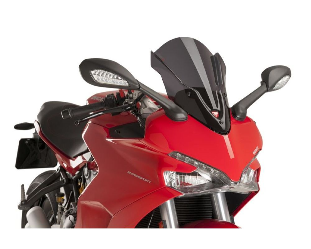 Puig 9434F Touring Windscreen - Dark Smoke Ducati Supersport 939 2017