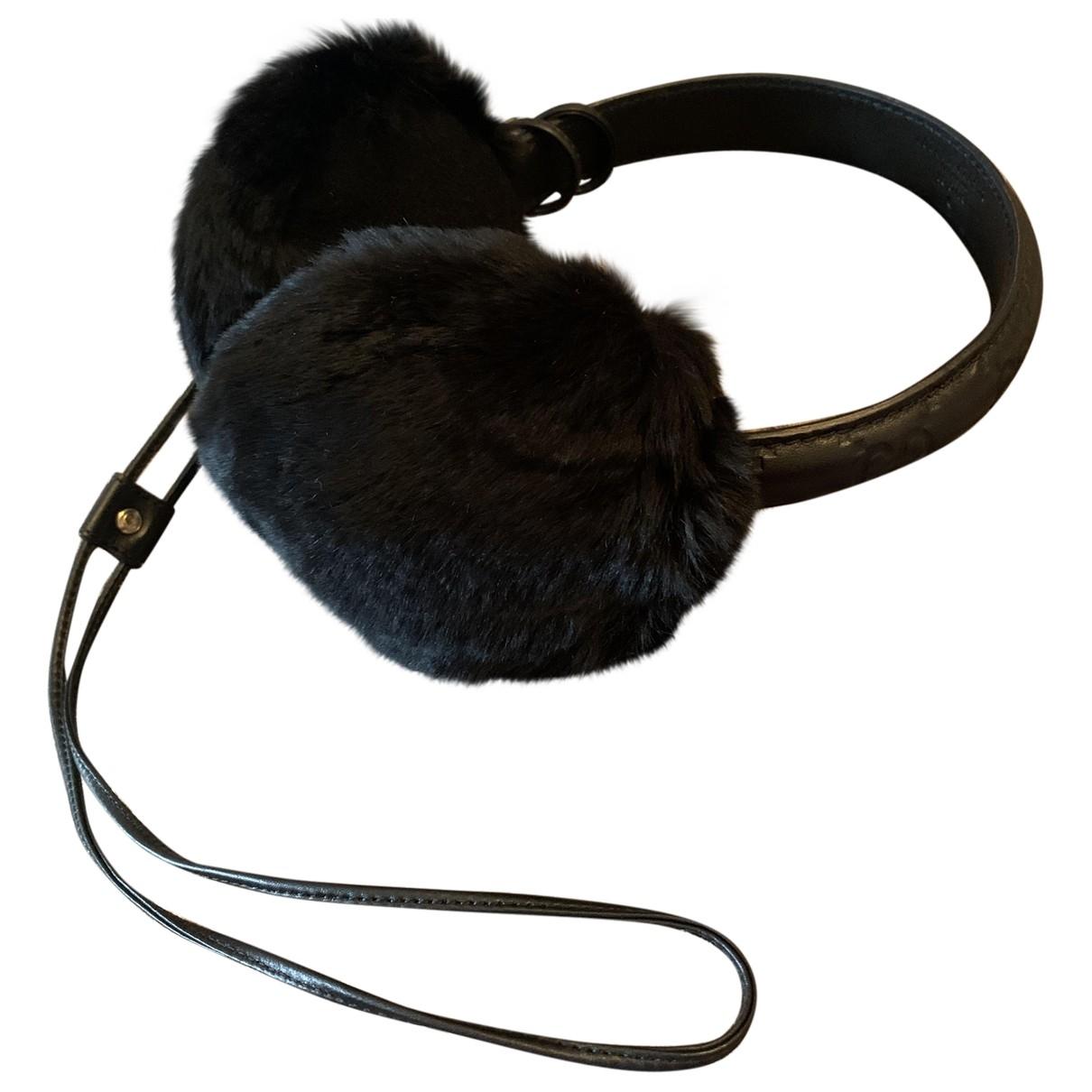 Gucci - Bijoux de tete   pour femme en lapin - noir