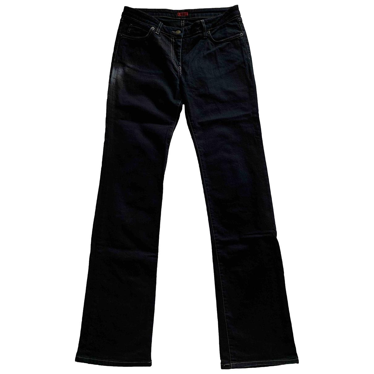 Hugo Boss \N Black Cotton - elasthane Jeans for Women 28 US