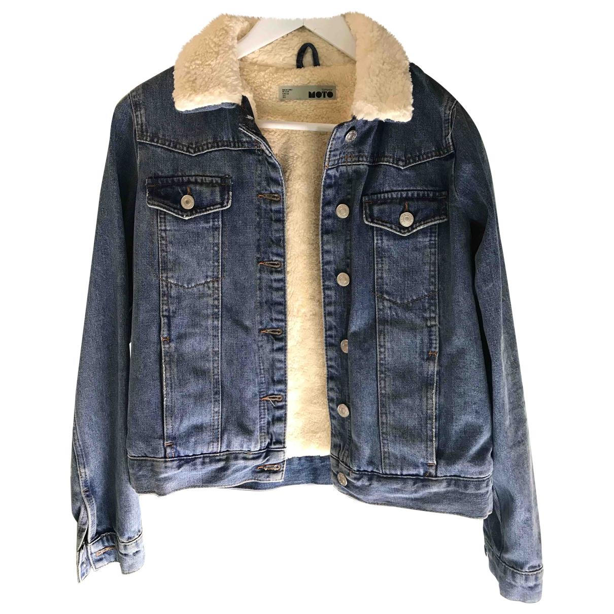 Tophop \N Jacke in  Blau Denim - Jeans