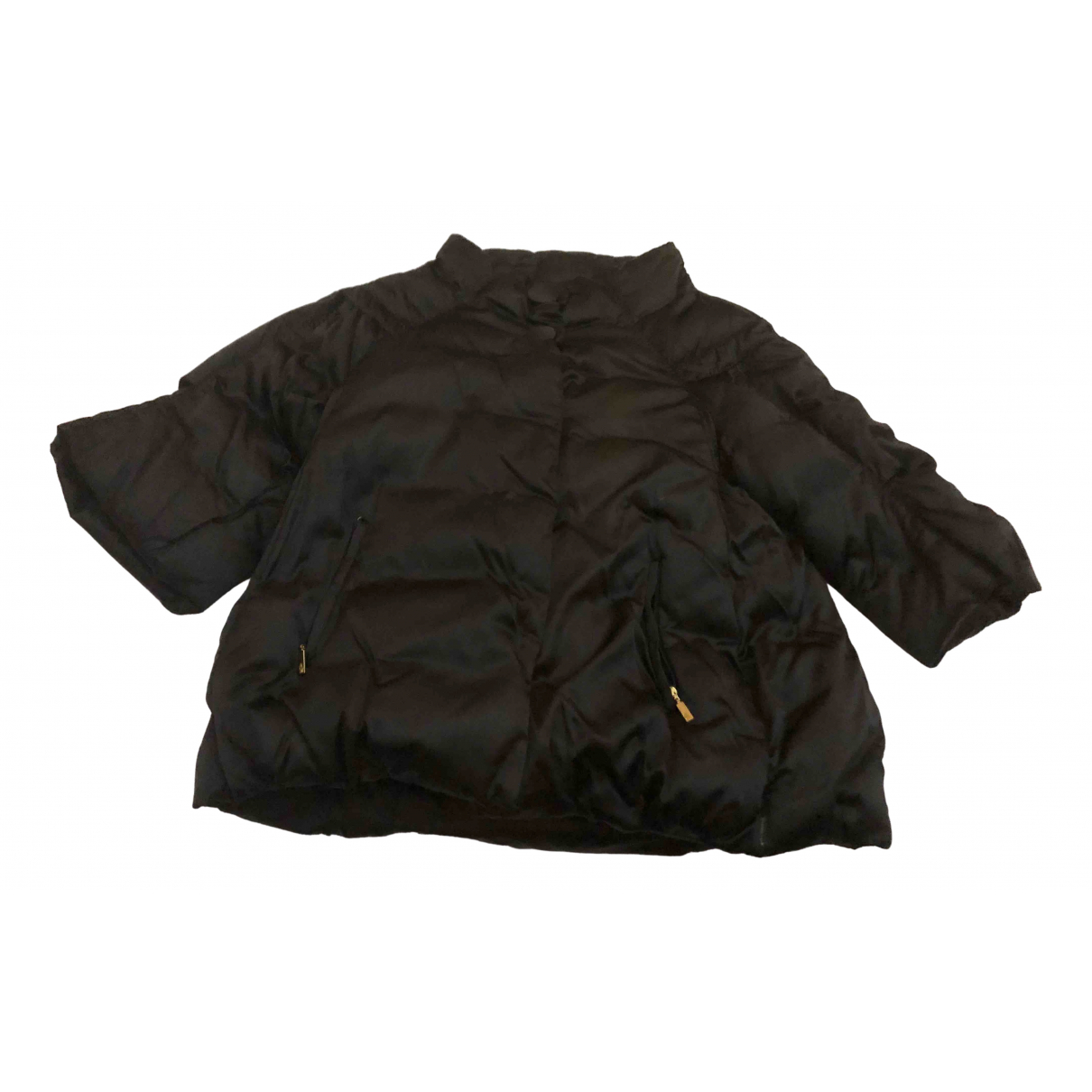 Moncler Classic Jacke in  Schwarz Polyester
