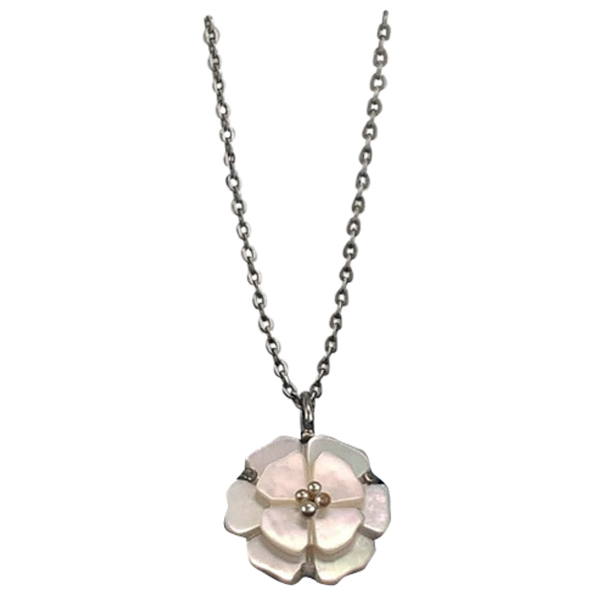 Chanel N Metal necklace for Women N