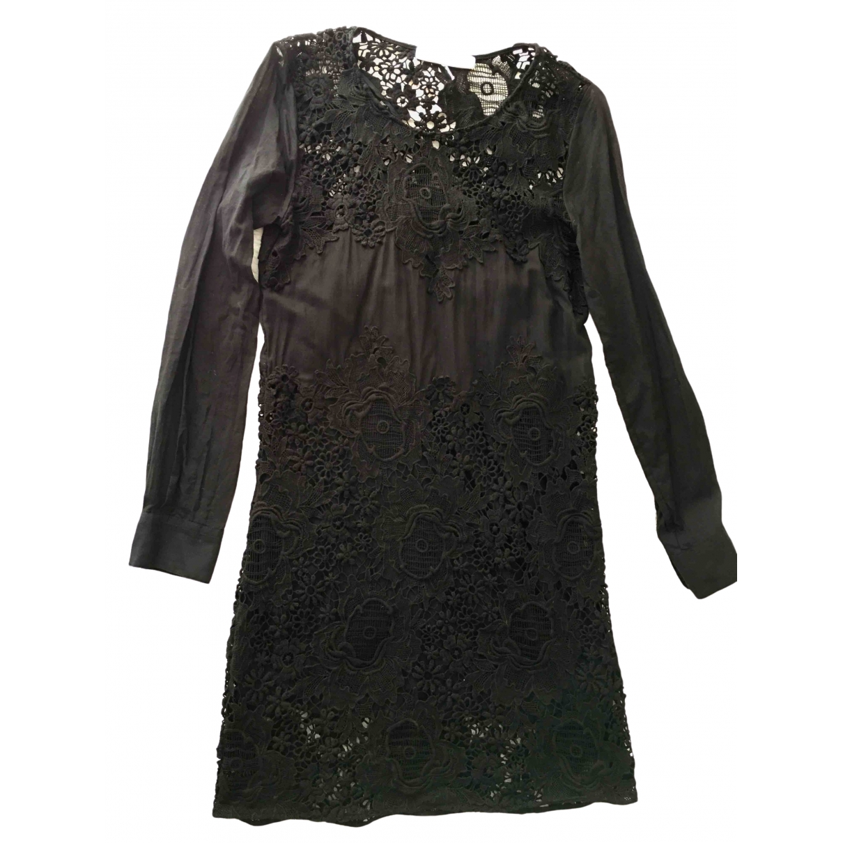 See By Chloe - Robe   pour femme en coton - noir