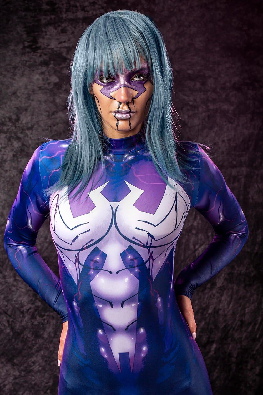 Venom Halloween Costume Women - Sexy Venom Bodysuit for Halloween 2019