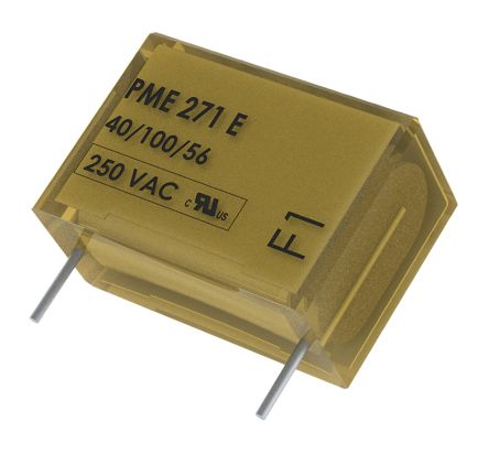 KEMET Paper Capacitor 10nF 300V ac ±20% Tolerance PME271E Through Hole +110°C (5)