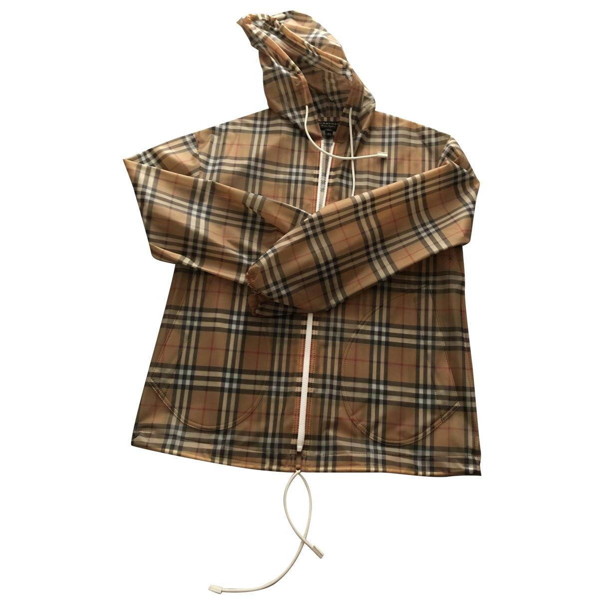 Burberry \N Multicolour Linen coat for Women 4 UK