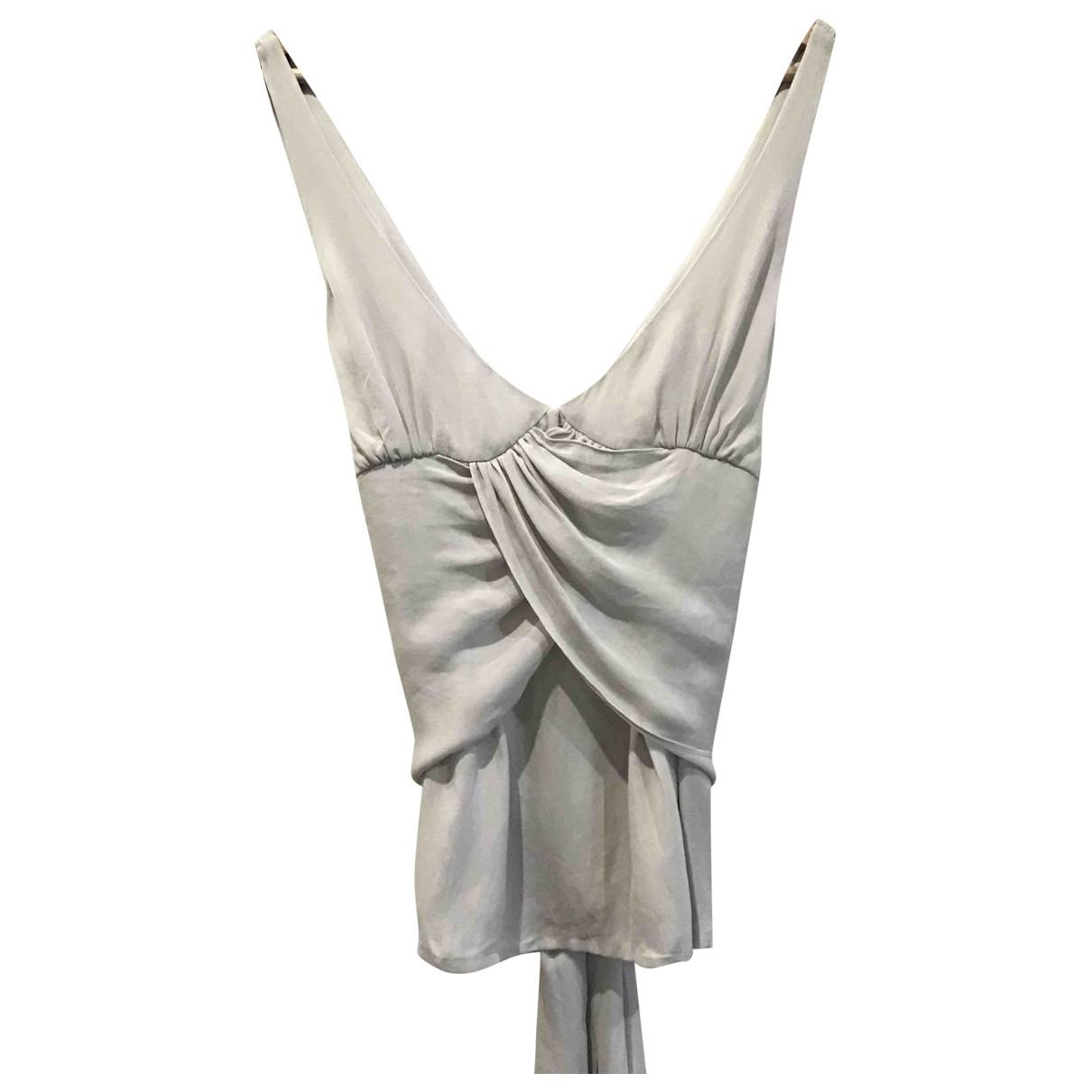 Barbara Bui - Top   pour femme en soie - gris