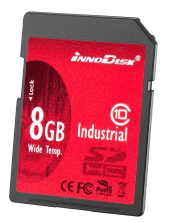 InnoDisk 8 GB Industrial MicroSDHC SD Card