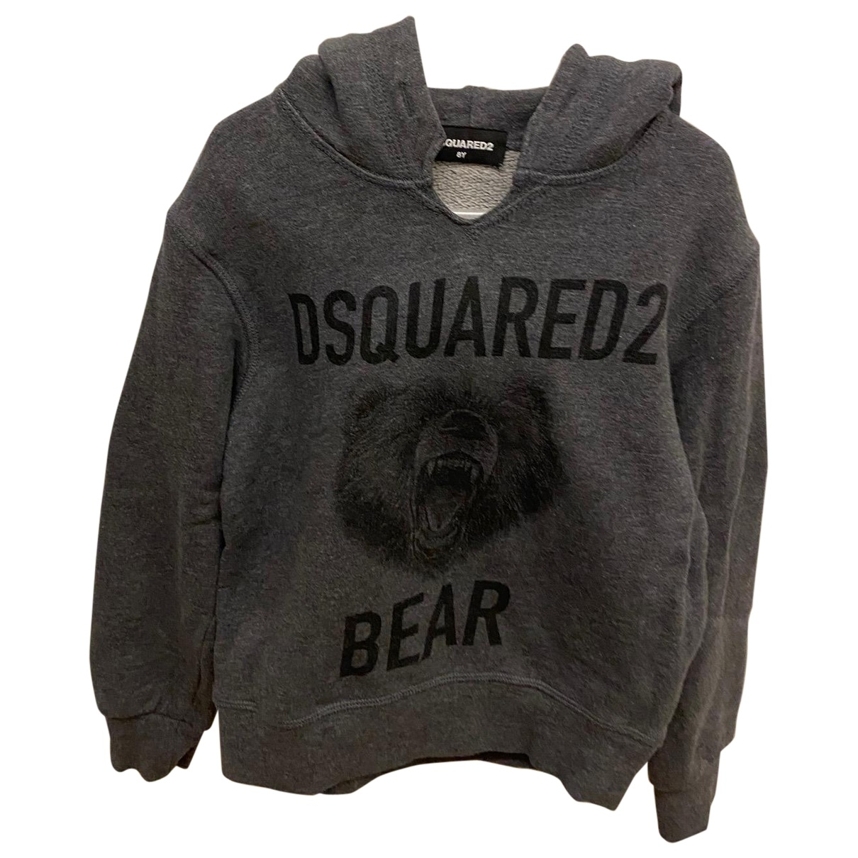 Dsquared2 \N Grey Cotton Knitwear for Kids 8 years - up to 128cm FR