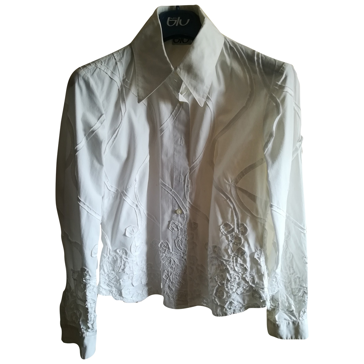 Byblos \N White Cotton  top for Women 44 IT