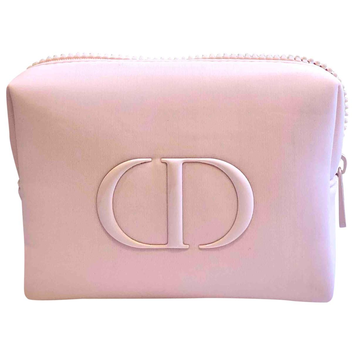 Dior - Sac de voyage   pour femme - rose
