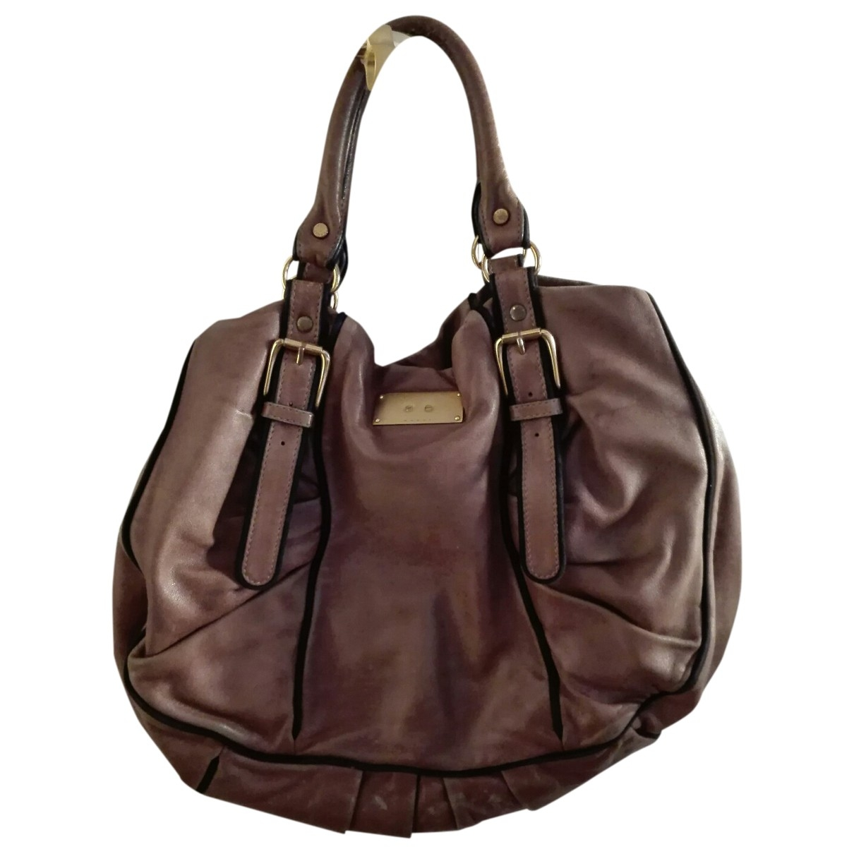 Marni \N Brown Leather handbag for Women \N