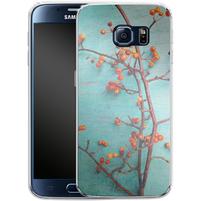 Samsung Galaxy S6 Silikon Handyhuelle - She Hung Her Dreams on Branches von Joy StClaire