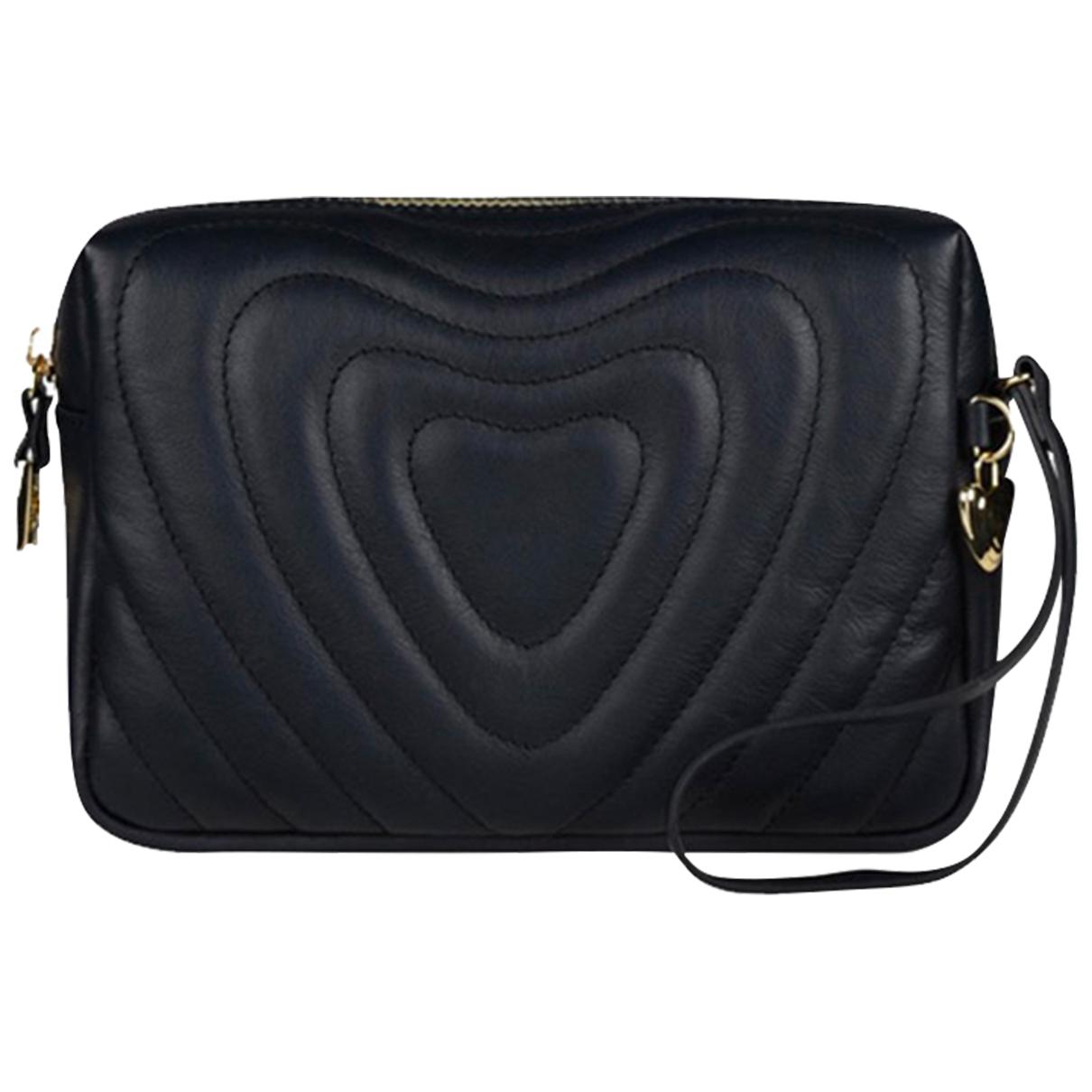 Escada Heart bag Navy Leather handbag for Women \N