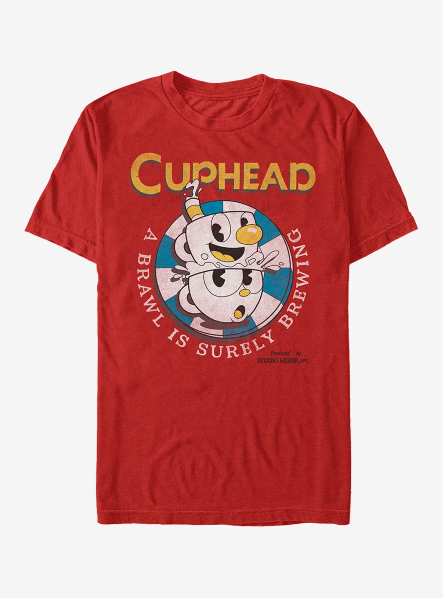 Cuphead Brawl is Brewing T-Shirt