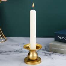 1pc Metal Candle Holder