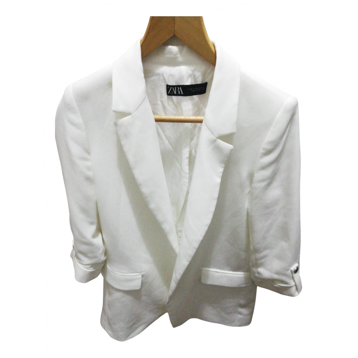 Zara N White jacket for Women M International