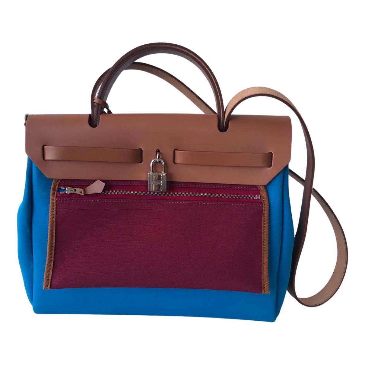 Hermès Herbag Multicolour Cloth handbag for Women N