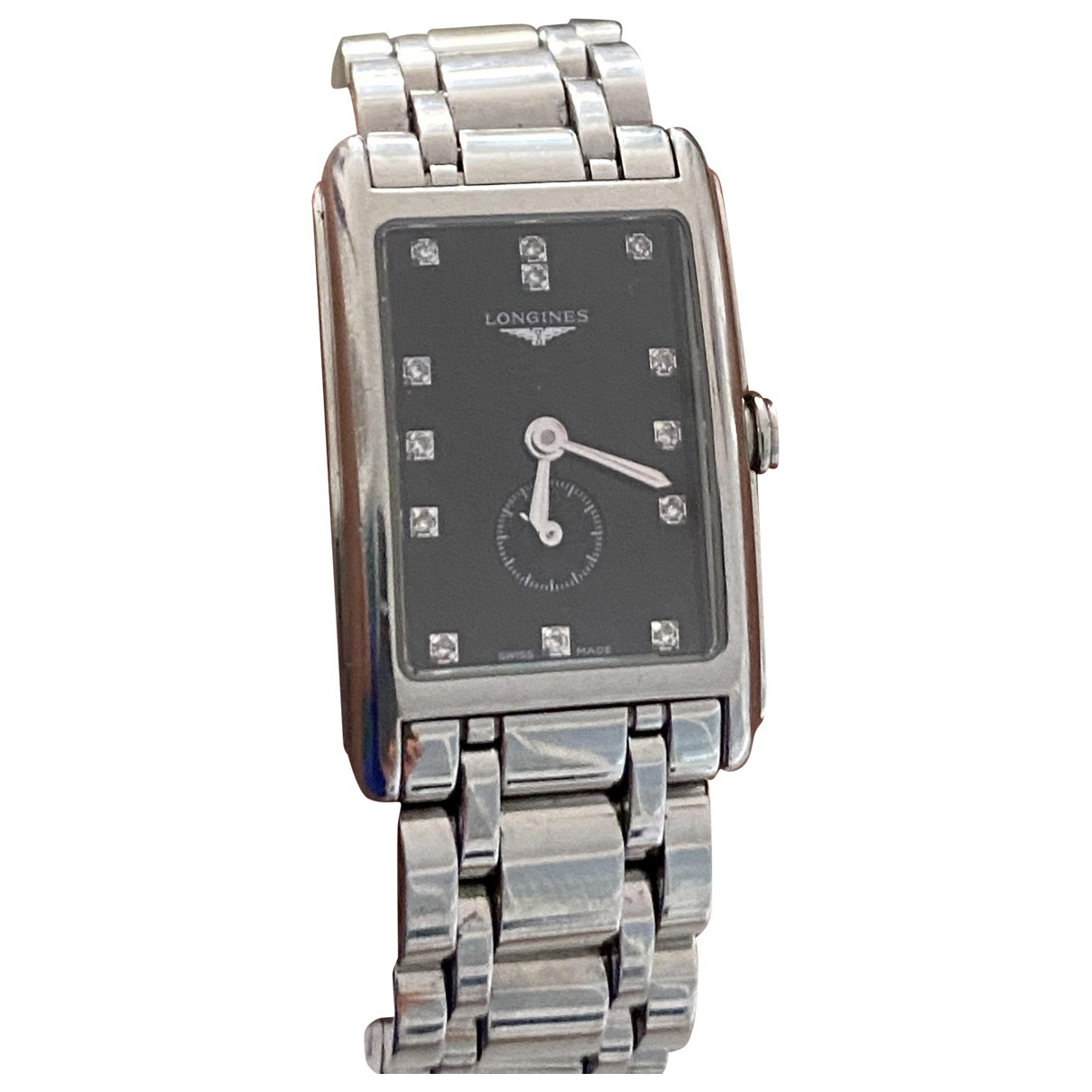 Longines Dolce Vita Uhr in  Schwarz Stahl
