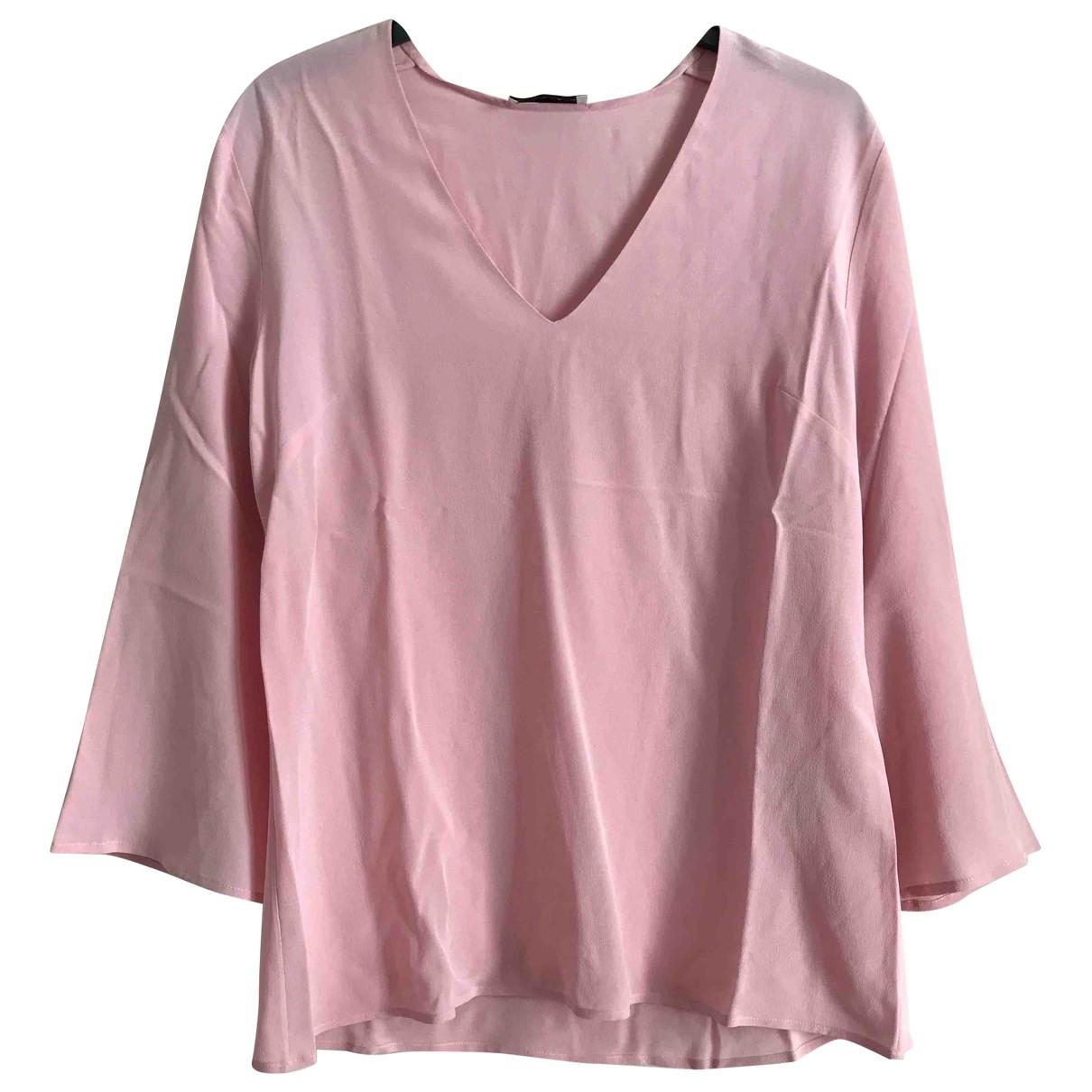 Etro - Top   pour femme en soie - rose