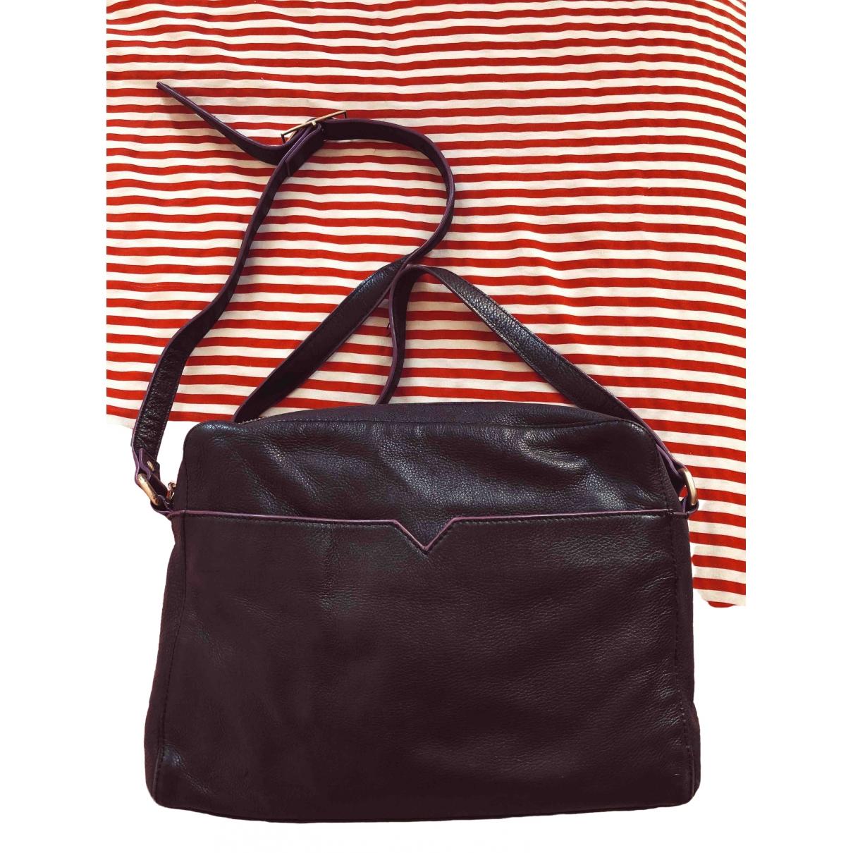 & Stories \N Black Leather handbag for Women \N