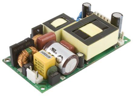 XP Power , 180W AC-DC Converter, 48V dc, Open Frame, Medical Approved