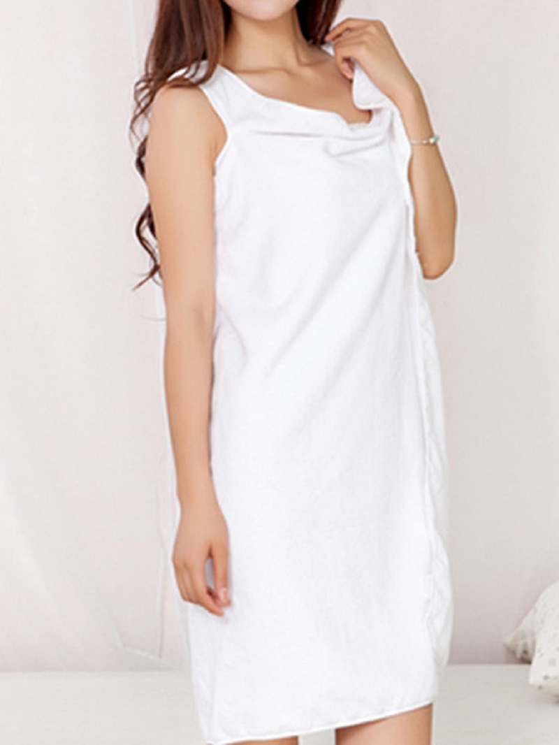 Ericdress Absorbent Wrap Body SkirtWearable Bath Robe 150*80cm